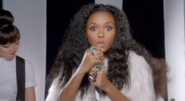Janelle Monae Lets Her Back Length Hair Down for New Single 'Dance Apocalyptic' | Black Girl with Long Hair