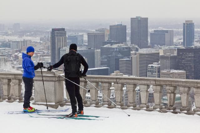 Montreal cross country skiing trails are all over the city. Find out where you can rent skis for the day and discover one of the most underrated sports of the season.