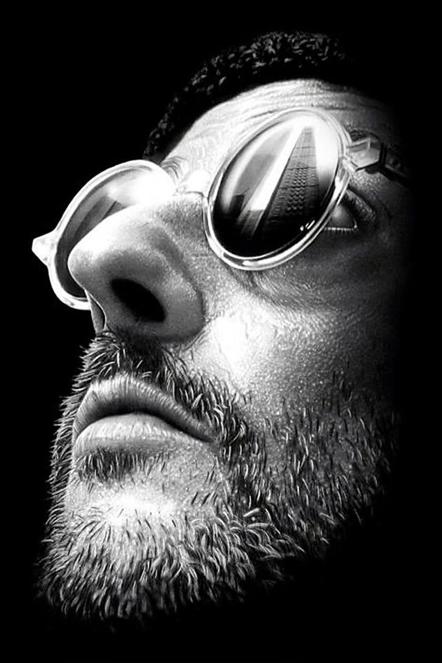Jean Reno, still from The Professional