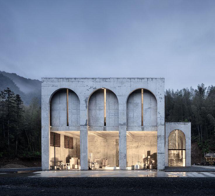 BingDing Wood Kiln Factory Renovation / AZL architects