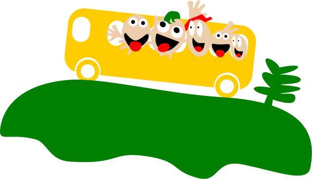 Image for Bus Tour School Clip Art