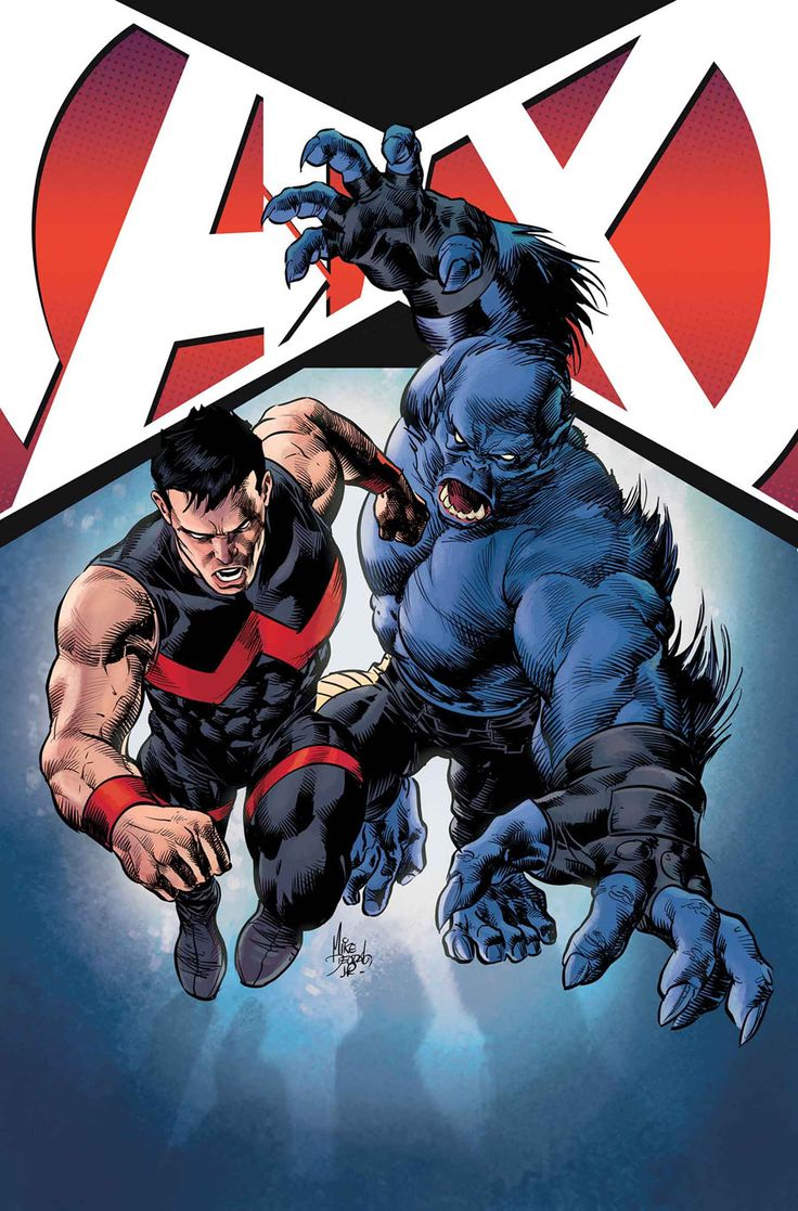Wonder Man & Beast - line art: Mike Deodato Jr., color: James Campbell