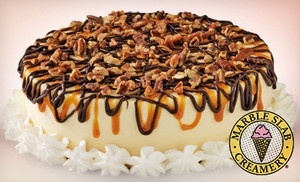 Groupon - $18 for a Large Ice-Cream Cake at Marble Slab Creamery (Up to $35.95 Value) in On Location. Groupon deal price: $18.00
