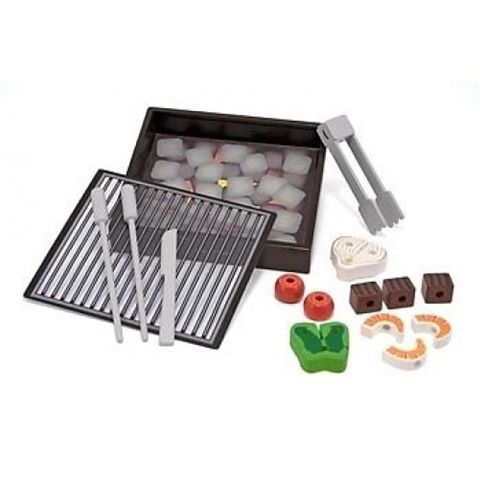 M&D Melissa and Doug Wooden BBQ Grill Set Available at Kids Mega Mart Shop Australia