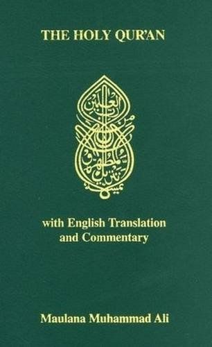 THE HOLY QURAN WITH ENGLISH TRANSLATION AND COMMENTARY *** You can get more details by clicking on the image.