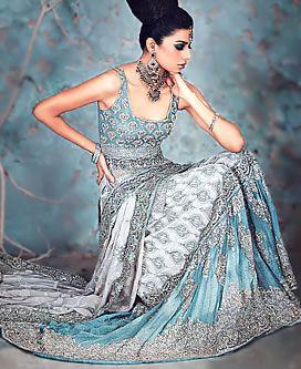 D3480 Bollywood Wedding Dresses, Bollywood Priyanka Chopra Bridal Dress, Bollywood Bridal Lehenga Sharara Bridal Wear Icy but I would so wear this, maybe the reception?!