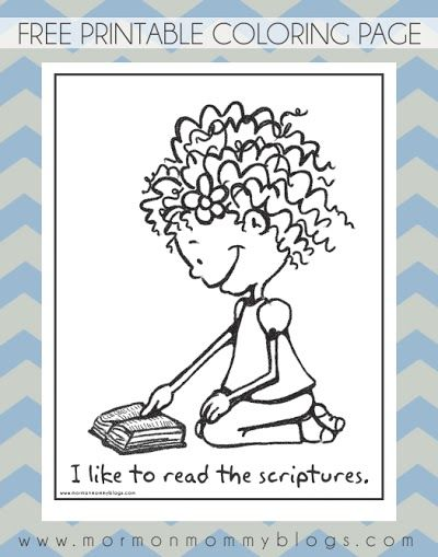 53 best images about Little LDS Ideas on Pinterest Book