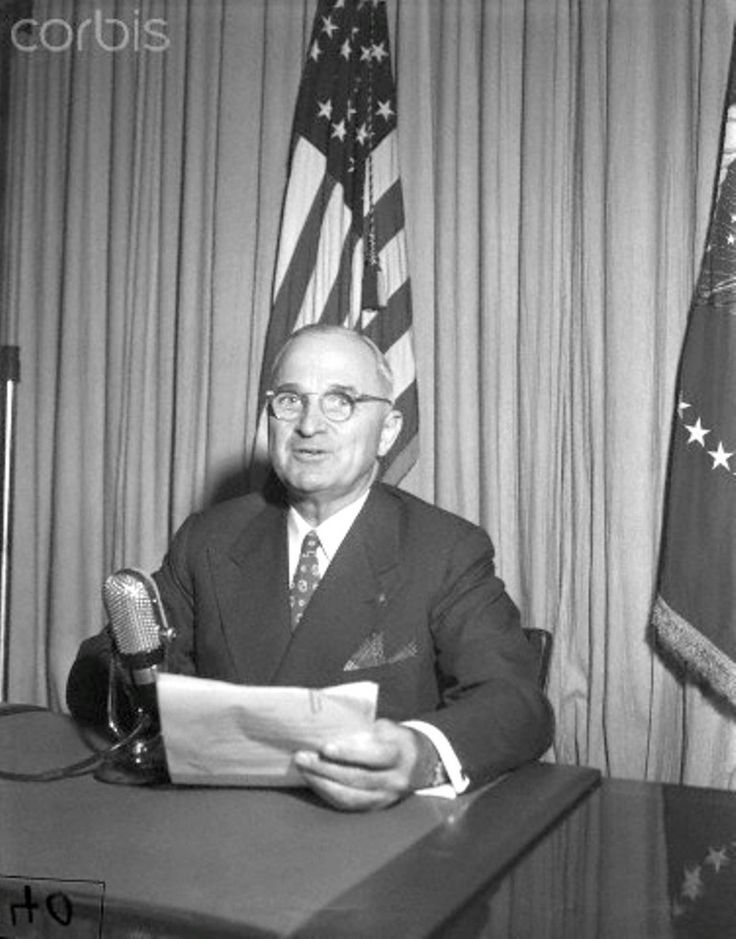 President Truman makes annual appeal in Community Chest Drive President Truman will make his annual appeal by radio in support of the community chest drive tonight. The Chief Executive will speak from the White House over several radio networks for 4 minutes, beginning at 10:53 P.M., (EDT).  Date  September 26, 1947 ❃❤❁❤❁❤❁❤❁❤❁  http://en.wikipedia.org/wiki/Harry_S._Truman  https://www.trumanlibrary.org/