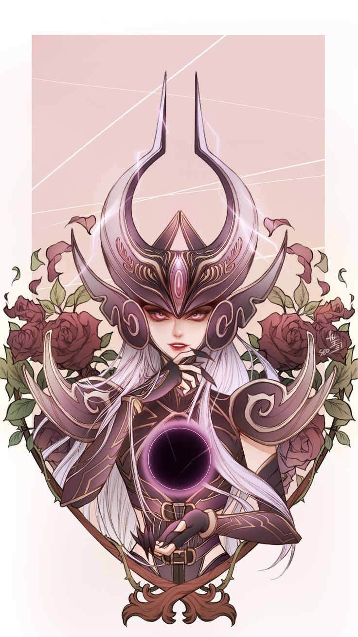 Syndra x Black rose by seo-love
