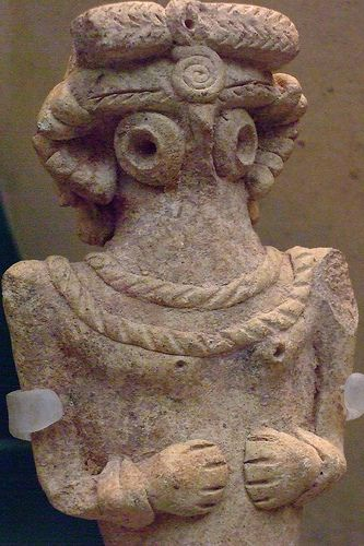 Pottery figurine from the Middle Euphrates EBIV 2400-2000 BCE