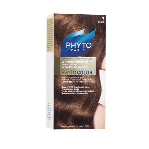 Phyto Phyto Color  Tinte Rubio - 7 Con extractos de plantas tintóreas (de 57 a 61% según el tono)