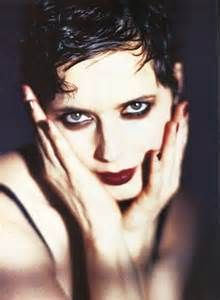 Even Isabella Rossellini was not immune to the heroin chic look back then.