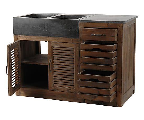 60 best outdoor sink images on pinterest outdoor sinks outside sink and baking center. Black Bedroom Furniture Sets. Home Design Ideas