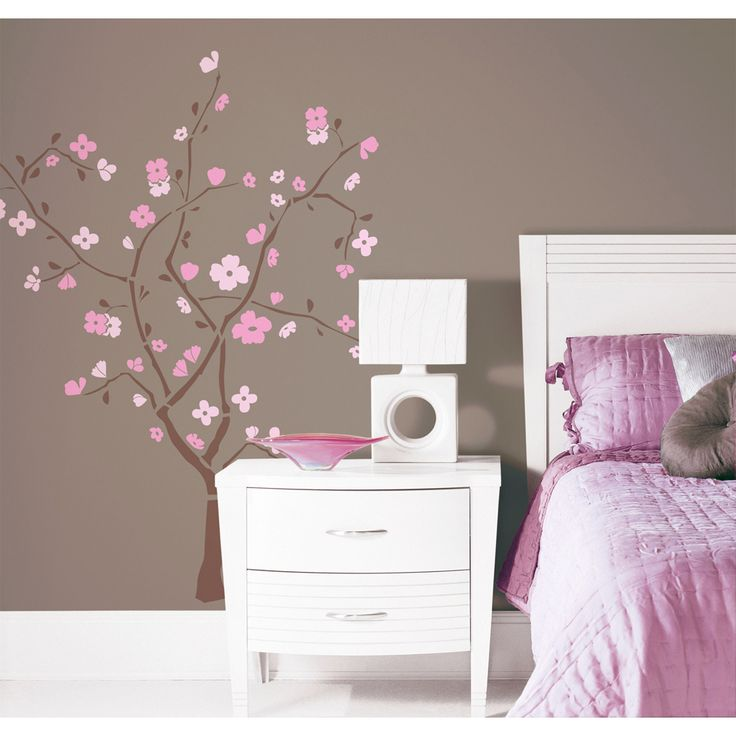 spring blossom peel u0026 stick giant wall decal overstock shopping big discounts on kids roomsbig