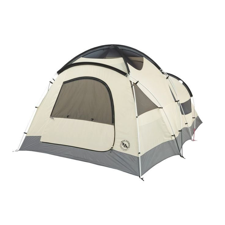 The Big Agnes Four Season Tent Flying Diamond 6 has more square footage than one…