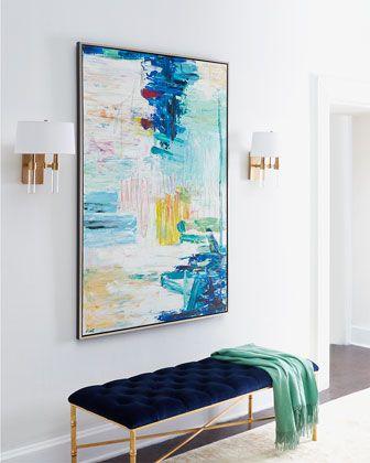 "RFA Fine Art ""Sunny Patch"" Original Painting & Giclee"