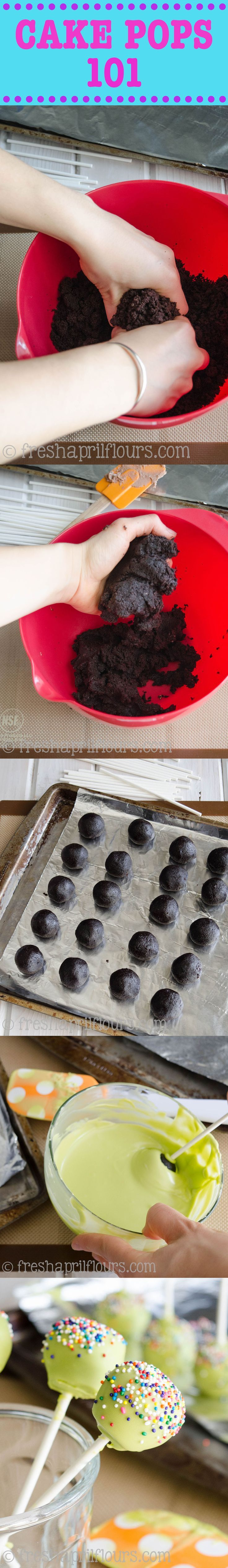 Cake Pops 101: Learn how to make cake pops with step-by-step photos, tricks, and troubleshooting tips.