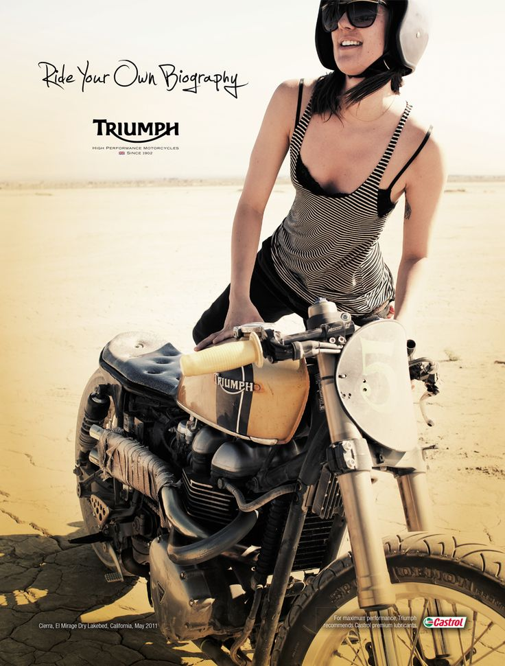 Would everyone do me a favor and welcome with a like, comment or share Triumph Motorcyclesas a new Iron & Air supporter!
