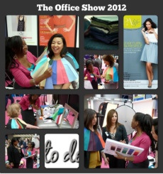 Doing colour demonstrations at The Office Show, Earls Court.    http://www.damsonbelle.co.uk/corporate.html