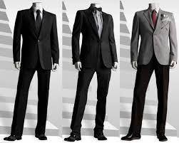 Resultado de imagen para vestimenta semi formal hombre color negro