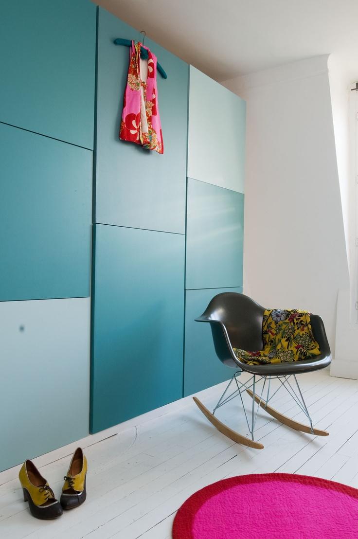 Bedroom. Anne Hubert / La cerise sur le gateau picture: Vincent Leroux