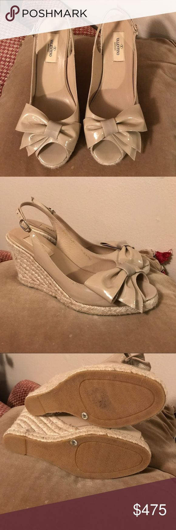 VALENTINO WEDGES Authentic Valentino wedges, excelente condition Valentino Shoes Wedges