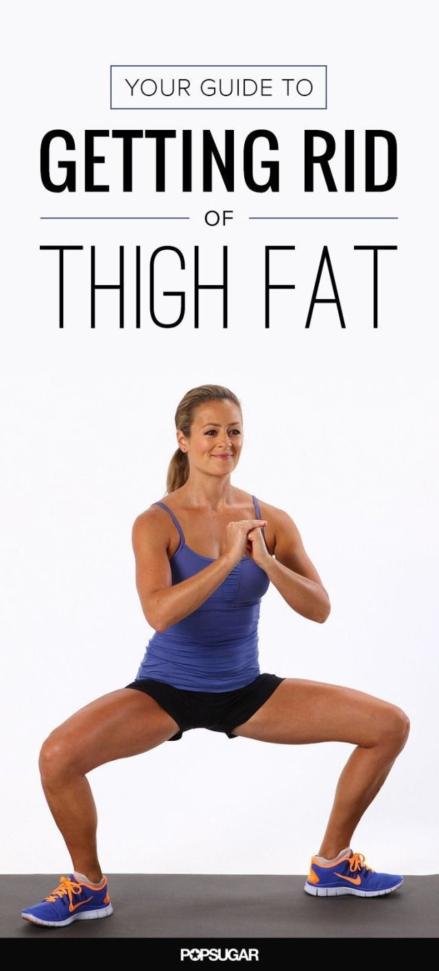 Here are the safest and fastest ways to lose that pesky thigh fat.