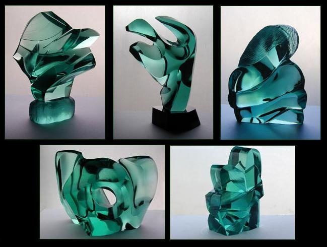Glass Sculptures by Ramon Orlina