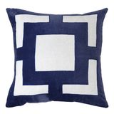 Bandhini Panel Navy Cushion