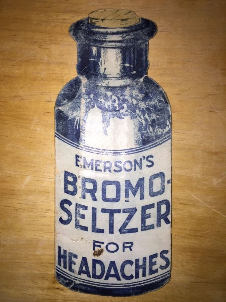 Antique Emerson Bromo Seltzer Trade Card Sewing Pin Booklet American Flag Rules #EmersonsBromoSeltzer