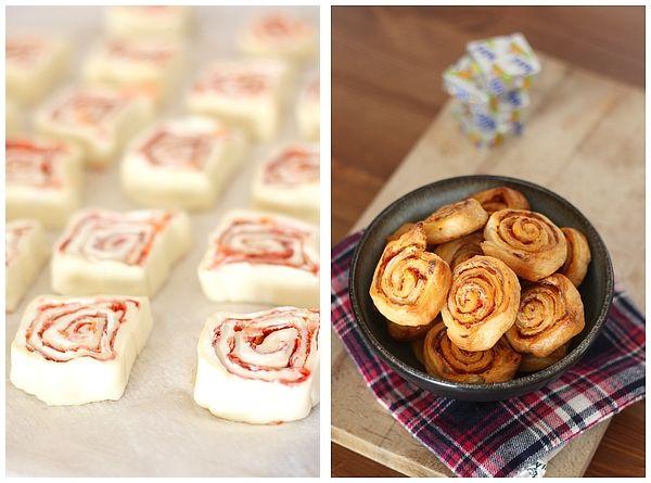 Feuilletés chorizo Kiri, olé ! #Kiri #recette #gourmande #feuillete #chorizo #tapas