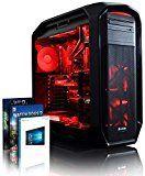 VIBOX Limitless 10 - 4,0GHz Intel i7 8-Core CPU, GTX 1080, leistungsfähig, Wassergekühlter Desktop Gamer Computer mit 2 Spielgutscheinen, Windows 10, Rot Innenbeleuchtung, lebenslange Garantie* (3,2GHz (4,0GHz Turbo) Superschneller Intel i7 6900K Acht 8-Core Prozessor CPU, Nvidia GeForce GTX 1080 8GB Grafikkarte, 32GB DDR4 3000MHz RAM, 480GB SSD, 3TB Festplatte, Corsair H100i GTX Wasserkühler, Corsair RM1000 Netzteil, Corsair 780T Gehäuse, Rampage V Mainboard)