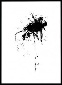 Plakat Black blot  3 - różne rozmiary
