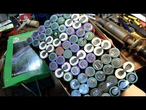 DIY 55$ 24AH Lithium-Ion 18650 E-Bike battery 100+ Mile Range: complete build - YouTube