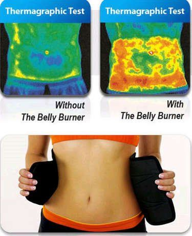 """awesome SlimHot® Belly Burner Belt, Hot Slimming Body Waist, Tummy Slimmer Belt, Trim Shaper, Tummy Tuck, Weight Loss, Warm Belly and Back Support, Adjustable Design, Fits Up to 35"""" Waist Size..."""