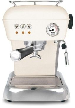 Ascaso Dream UP 2 Versatile Espresso Machine, Sweet Cream contemporary coffee makers and tea kettles