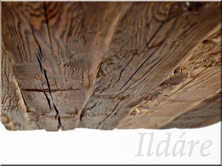 Öreg fagerenda felülete