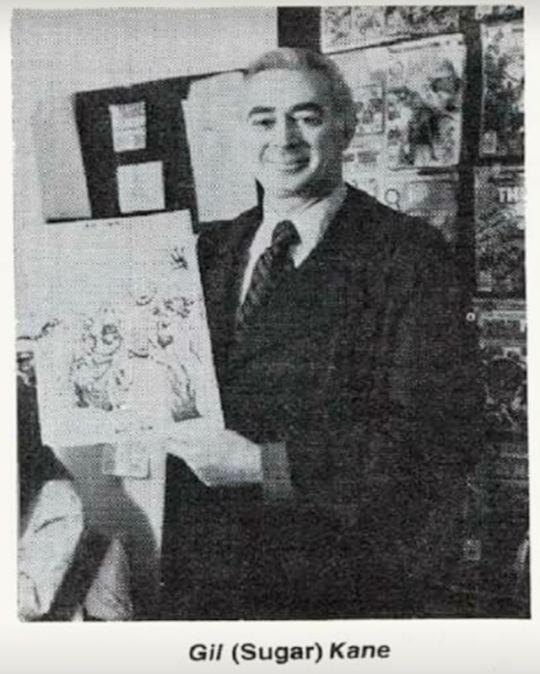 Photo of Gil  kane printed in FOOM Magazine #18
