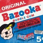 Bazooka Bubble Gum Kaugummi aus der Maschine