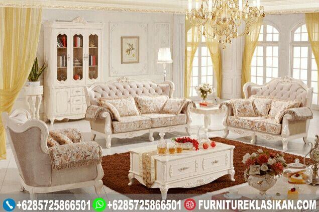 kursi tamu sofa ukiran  sangat cocok untuk rumah ruang tamu anda, model elegant dengan cat duco menambah  kemewahan produk kursi tamu ini.
