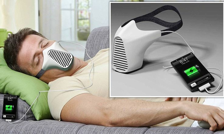 A breath of fresh air: Clever gadget transforms the air from your lungs into energy to charge your phone