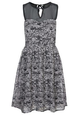 Sukienka koktajlowa - szary