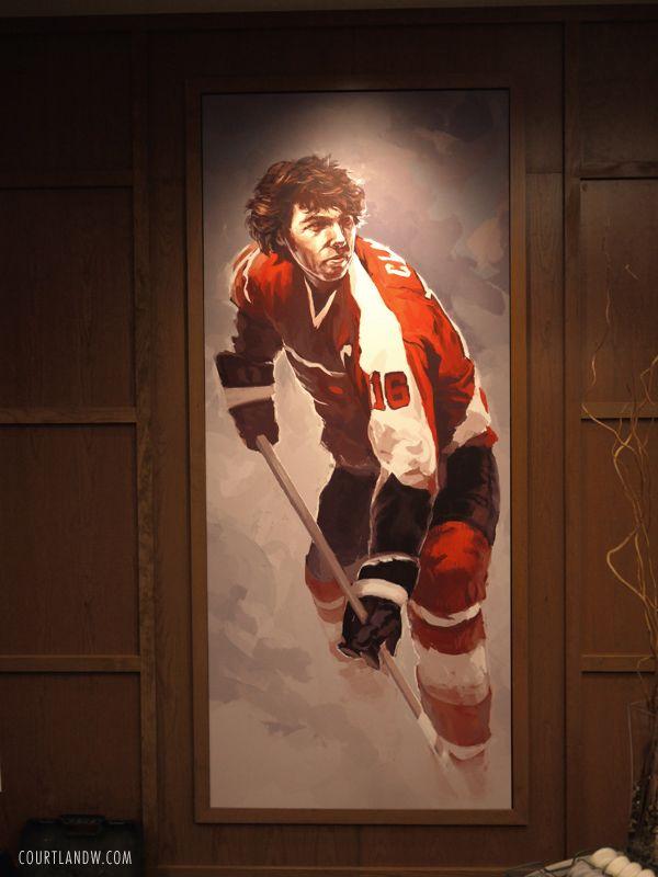 Flyers Players' Lounge ~ Bobby Clarke