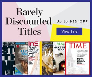 Discount Magazines: Premium Magazine Sale - Saturday & Sunday Only! - http://www.swaggrabber.com/?p=283862