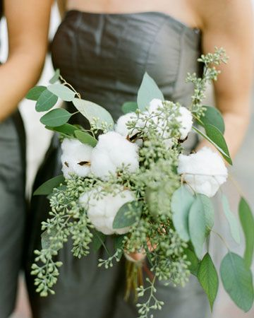 seeded eucalyptus + cotton | Ritzy Bee Events | Sidra Forman Flowers | Kate Headley photography