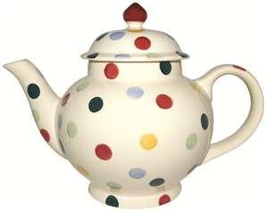Image detail for -Polka Dot teapot £25 in the Emma Bridgewater sale!