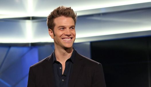 Comedian Anthony Jeselnik... Makes me laugh til I cry... I'm sure there's a joke in there somewhere about that.