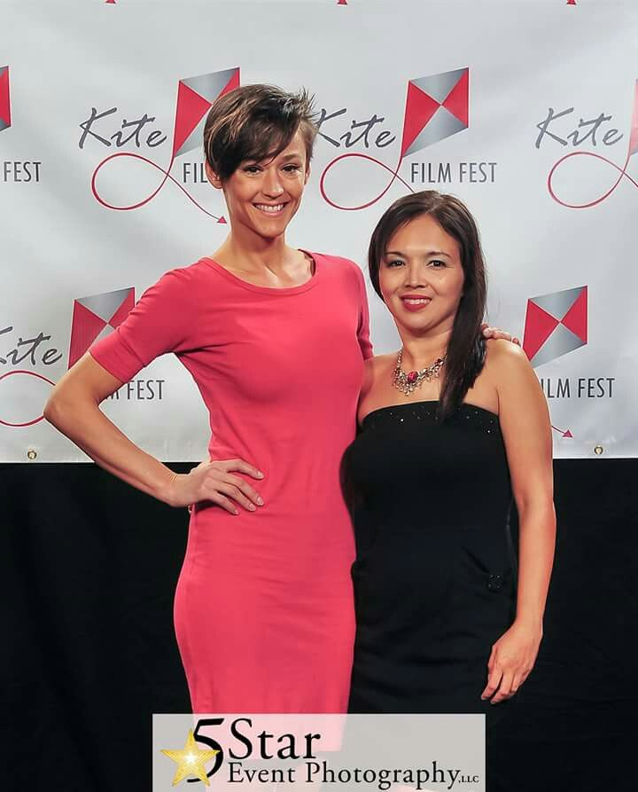 Dawn Hamil & Marianne Del Gallego at Kite Film Fest