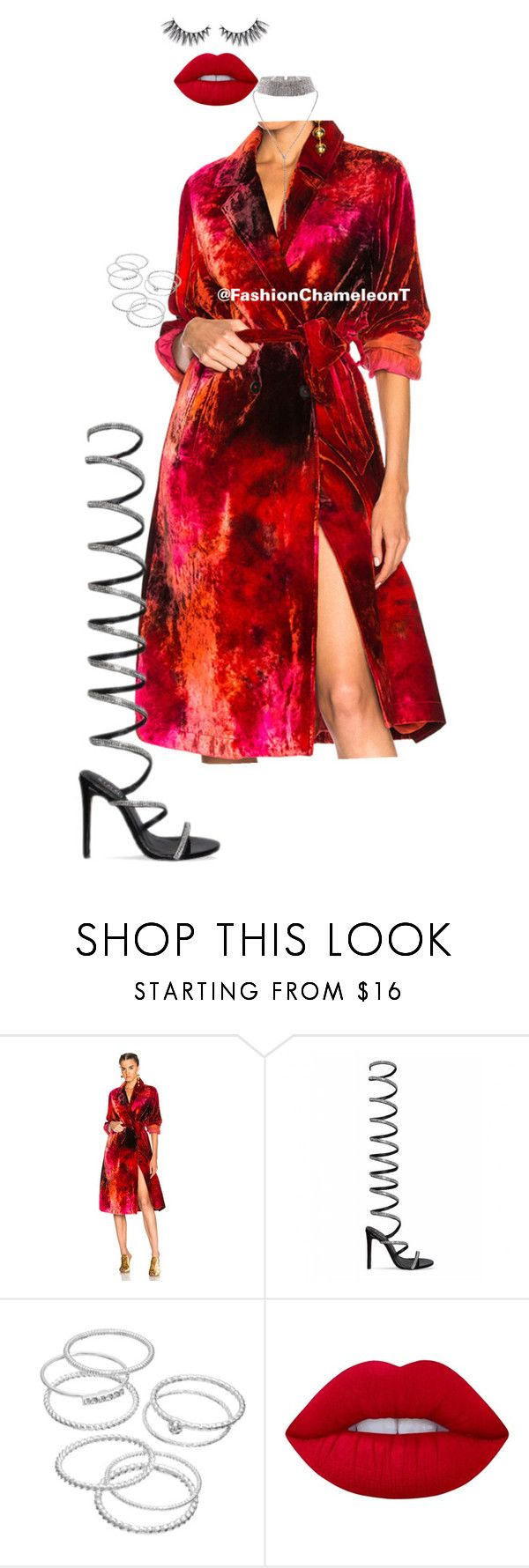 """""""Untitled #508"""" by fashionchameleont on Polyvore featuring Raquel Allegra, LC Lauren Conrad and Lime Crime"""