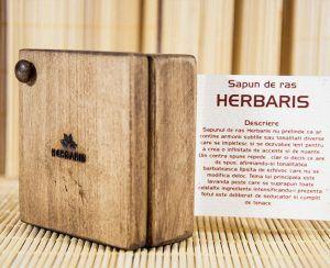Sapun natural pentru ras Herbaris